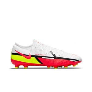 Nike Phantom GT2 Pro AG-PRO - Botas de fútbol Nike AG-PRO para césped artificial - blancas, rojas