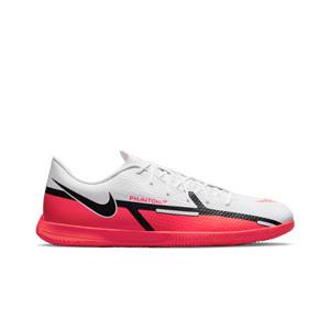 Nike Phantom GT2 Club IC - Zapatillas de fútbol sala Nike suela lisa IC - blancas, rojas
