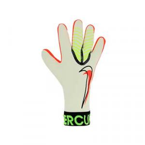 Nike GK Mercurial Touch Victory - Guantes de portero Nike corte negativo - blancos, amarillos flúor