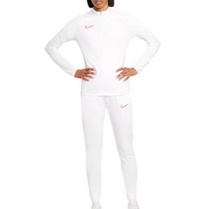 Chándal Nike mujer Dri-Fit Academy 21 - Chándal de fútbol de mujer Nike - blanco