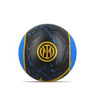 Balón Nike Inter Pitch talla 5 - Balón de fútbol Nike del Inter talla 5 - negro, azul