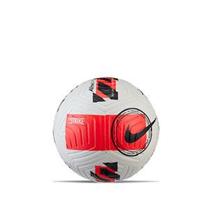 Balón Nike Strike talla 3 - Balón de fútbol Nike talla 3 - blanco, rosa