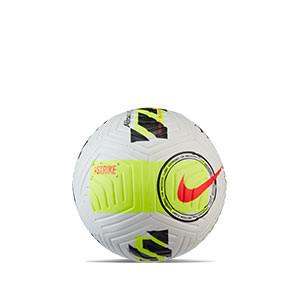 Balón Nike Strike talla 3 - Balón de fútbol Nike talla 3 - blanco, amarillo flúor