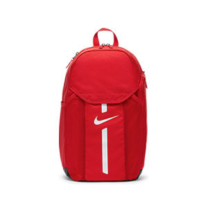 Mochila Nike Academy Team - Mochila de deporte Nike (48x35x17 cm) - roja - frontal
