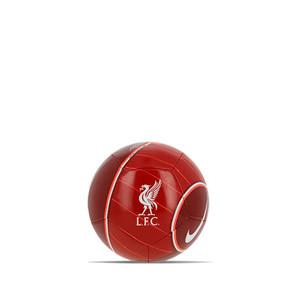 Balón Nike Liverpool Skills - Balón de fútbol Nike del Liverpool FC en talla mini - granate