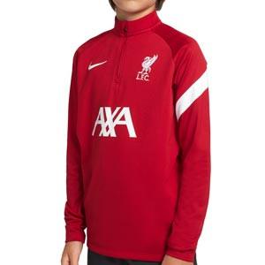 Sudadera Nike Liverpool entrenamiento niño Academy Pro