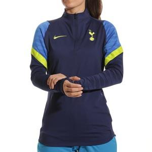Sudadera Nike Tottenham entrenamiento mujer Dri-Fit Strike - Sudadera de entrenamiento para mujer Nike del Tottenham Hotspur - azul marino