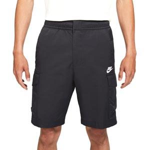 Short Nike Sportswear Woven Utility - Pantalón corto de algodón Nike - negro