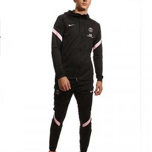 Chándal Nike PSG Dri-Fit Strike Hoodie - Chándal con capucha de entrenamiento Nike del París Saint-Germain - negro