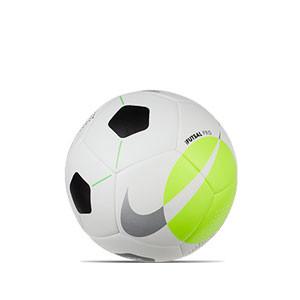 Balón Nike Futsal Pro talla 62 cm - Balón de fútbol sala Nike talla 62 cm - blanco, amarillo flúor