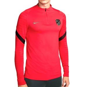 Sudadera Nike Atlético entrenamiento Dri-Fit Strike UCL - Sudadera de entrenamiento del Atlético de la Champions League 2021 2022 - roja