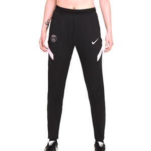Pantalón Nike PSG entrenamiento mujer Dri-Fit Strike - Pantalón largo de entrenamiento para mujer Nike del París Saint-Germain - negro