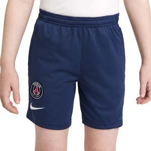 Short Nike PSG entrenamiento niño Academy Pro - Pantalón corto infantil entrenamiento Nike del París Saint-Germain - azul marino