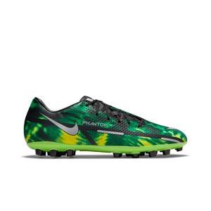 Nike Phantom GT2 Academy SW AG - Botas de fútbol Nike AG para césped artificial - verdes, negras