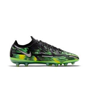 Nike Phantom GT2 Elite SW AG-PRO - Botas de fútbol Nike AG-PRO para césped artificial - verdes, negras