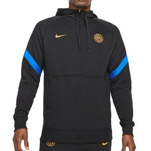 Sudadera Nike Inter Travel Fleece Hoodie - Sudadera con capucha Nike del Inter de Milán - negra