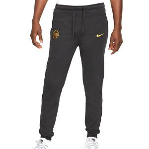 Pantalón Nike Inter Travel Fleece - Pantalón largo de paseo Nike del Inter de Milán - negro