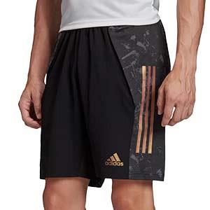 Short adidas Condivo 20 Ultimate - Pantalón corto de entrenamiento de fútbol adidas - negro - frontal