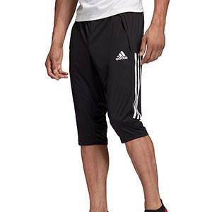 Pantalón pirata adidas Condivo 20 - Pantalón pirata de entrenamiento de fútbol adidas - negro - frontal