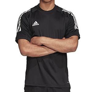 Camiseta adidas Condivo 20 - Camiseta de entrenamiento de fútbol adidas - negra - frontal
