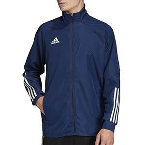 Chaqueta adidas Condivo 20 Presentación - Chaqueta de chándal para fútbol adidas - azul marino - frontal