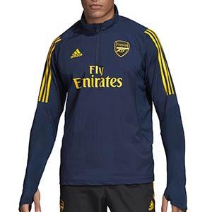 Sudadera adidas Arsenal entreno Europa League 19 2020 - Sudadera de entrenamiento adidas del Arsenal para la UEFA Europa League 2019 2020 - azul marino - frontal