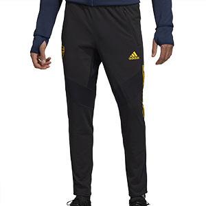 Pantalón adidas Arsenal entreno Europa League 19 2020 - Pantalón largo de entrenamiento adidas del Arsenal para la UEFA Europa League 2019 2020 - negro - frontal
