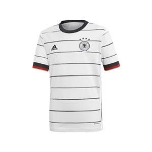 Camiseta adidas Alemania niño 2019 2020 - Camiseta niño primera equipación selección alemana 2019 2020 - blanca - frontal