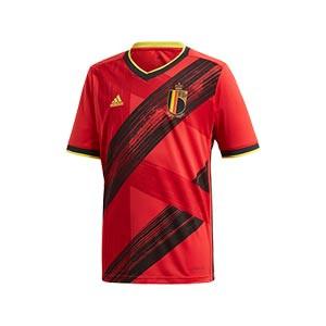 Camiseta adidas Bélgica niño 2019 2020 - Camiseta infantil primera equipación selección belga 2019 2020 - roja - frontal