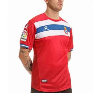 Camiseta Kelme 2a Espanyol 2021 2022 - Camiseta segunda equipación Kelme del RCD Espanyol 2021 2022 - roja