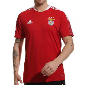 Camiseta adidas Benfica entrenamiento - Camiseta de entrenamiento adidas del Benfica - roja
