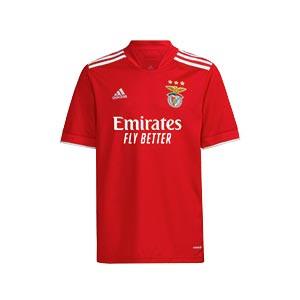 Camiseta adidas Benfica niño 2021 2022 - Camiseta primera equipación infantil adidas del Benfica 2021 2022 - roja