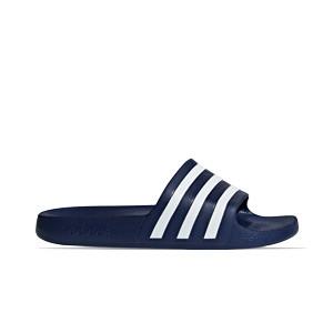 Chanclas adidas Adilette Aqua - Chancletas de baño adidas - azul marino - pie derecho
