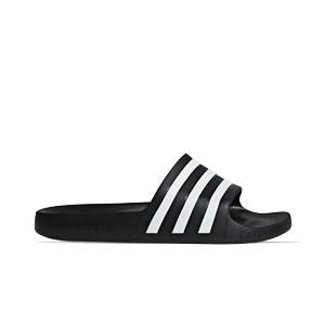 Chanclas adidas Adilette Aqua - Chancletas de baño adidas - negras - pie derecho