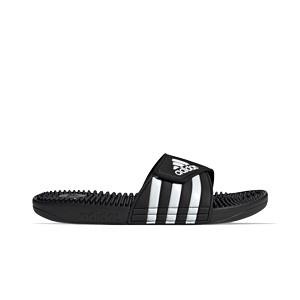 Chanclas adidas Adissage - Chancletas de baño adidas - negras - pie derecho