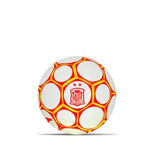 Balón Joma selección española talla mini - Balón de fútbol sala Joma de la selección española talla mini - blanco, rojo