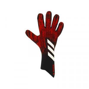 adidas Predator Pro - Guantes de portero profesionales adidas corte negativo - rojos y negros - pie derecho