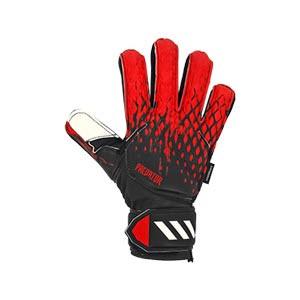 adidas Predator Match FingerSave J - Guantes de portero con protecciones para niño adidas corte positivo - negros - derecho