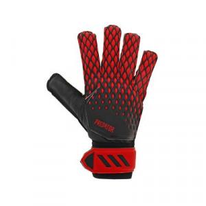 adidas Predator Training - Guantes de portero adidas corte positivo - rojos y negros - frontal derecho
