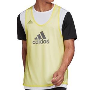 Peto adidas Training Bib 14 - Peto de entrenamiento de fútbol adidas - amarillo - frontal