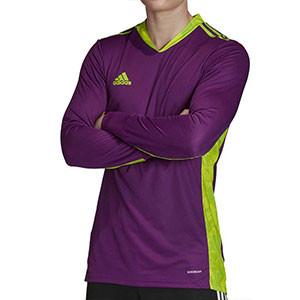 Camiseta portero adidas Adipro 20 GK - Camiseta de manga larga de portero adidas - morada - frontal