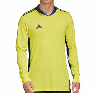 Camiseta portero adidas Adipro 20 GK - Camiseta de manga larga de portero adidas - amarilla - frontal