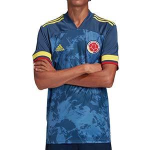 Camiseta adidas 2a Colombia 2019 2020 - Camiseta segunda equipación selección colombiana 2019 2020 - azul marino - frontal