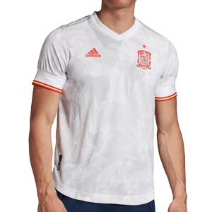Camiseta adidas 2a España 2020 2021 authentic - Camiseta auténtica segunda equipación selección española 2020 2021 - blanca