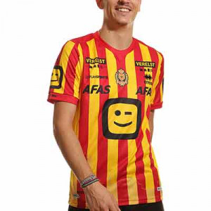 Camiseta Errea KV Mechelen 2021 2022 - Camiseta Errea primera equipación KV Mechelen 2021 2022 - amarilla, roja