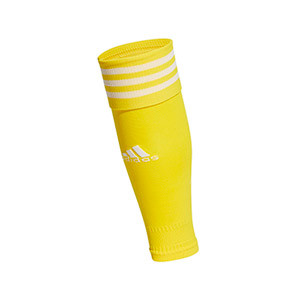 Medias sin pie adidas Team 18 - Medias de fútbol adidas Team 18 sin pie - amarillas