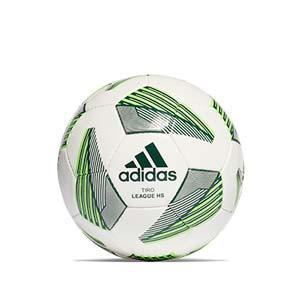Balón adidas Tiro League HS talla 5 - Balón de fútbol adidas Team para césped artificial talla 5 - blanco, verde - frontal