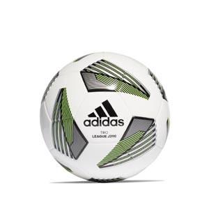 Balón adidas Tiro League J290 talla 5 - Balón de fútbol adidas Team Junior 290g talla 5 - blanco y verde - frontal