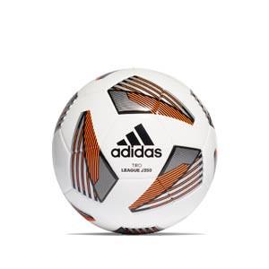 Balón adidas Tiro League J350 talla 5 - Balón de fútbol adidas Tiro Junior 350 g talla 5 - blanco y naranja - frontal