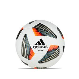 Balón adidas Tiro Pro FIFA talla 5 - Balón de fútbol adidas talla 5 - blanco, naranja - frontal